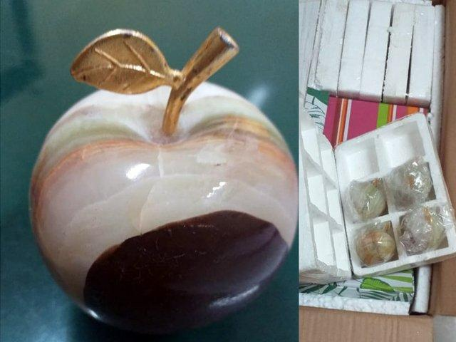Bid to smuggle drugs 'masterfully concealed' in decorative apples foiled