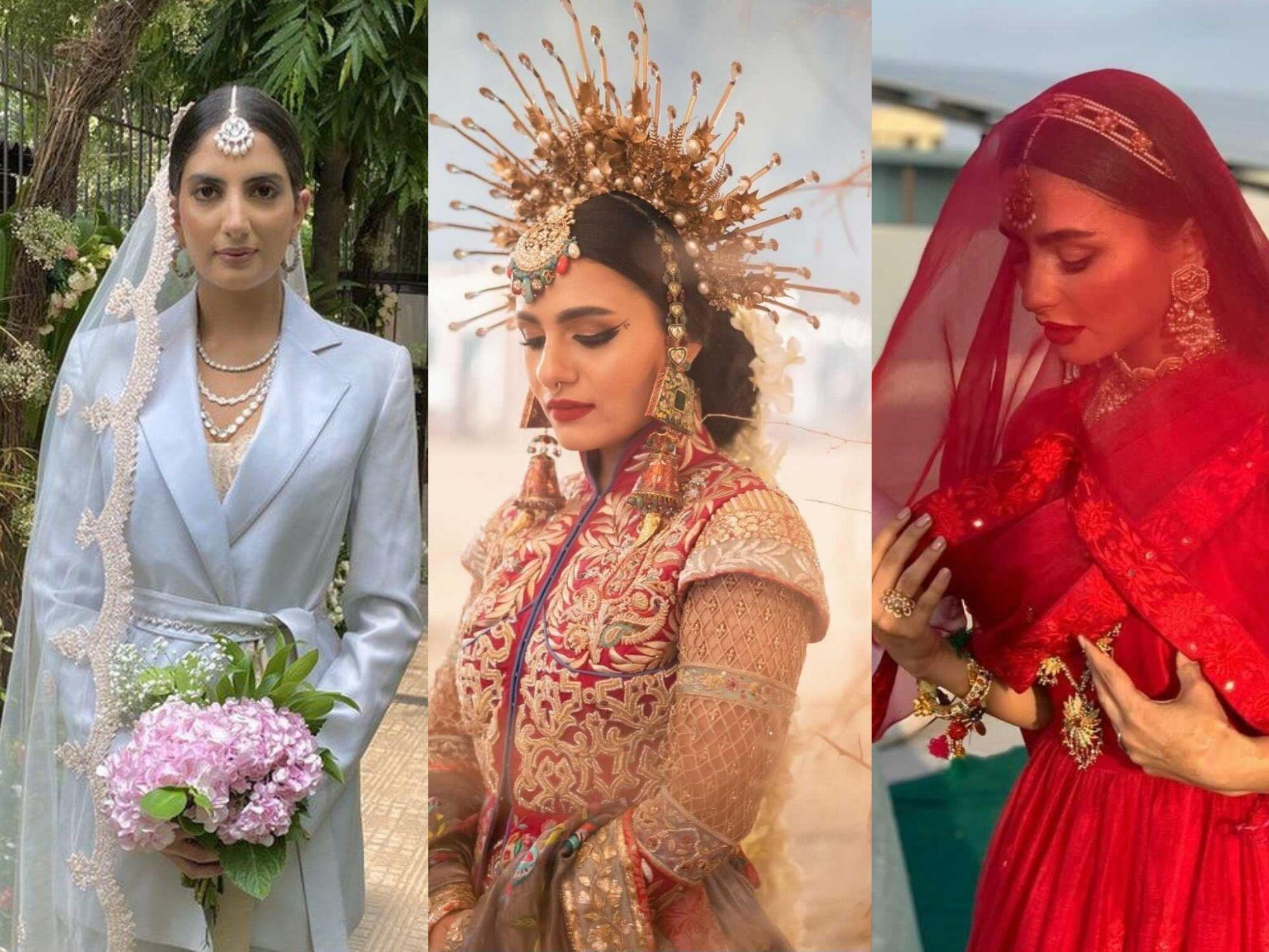 Unconventional brides of Instagram