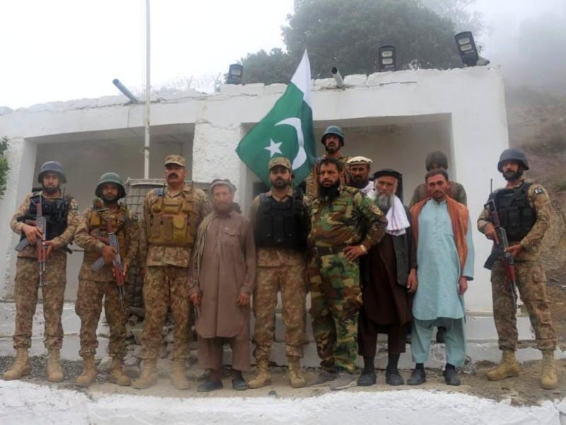 Five more Afghan soldiers returned to their country: ISPR