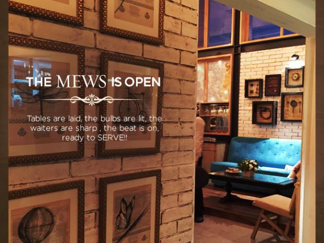 Mews Cafe: An aesthetically delightful experience
