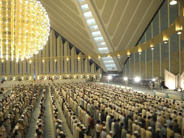 Can uniform prayer timings in Islamabad bring religious harmony?