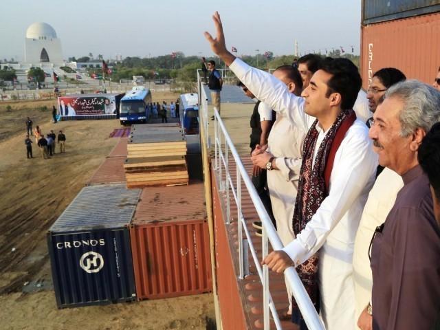Karachi at standstill as Prince Bilawal comes of age…