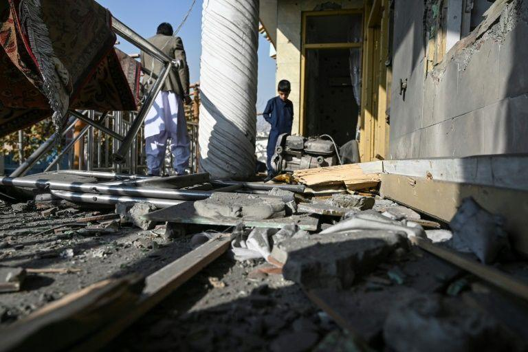 At least eight dead as barrage of rockets hits Kabul