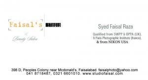 FAISAL STUDIO & BEAUTY SALOON