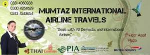Mumtaz International Airline Travels