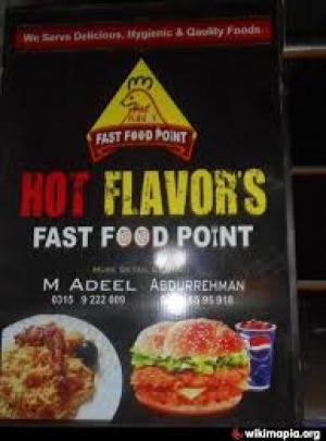 Hot Flavour Fast food